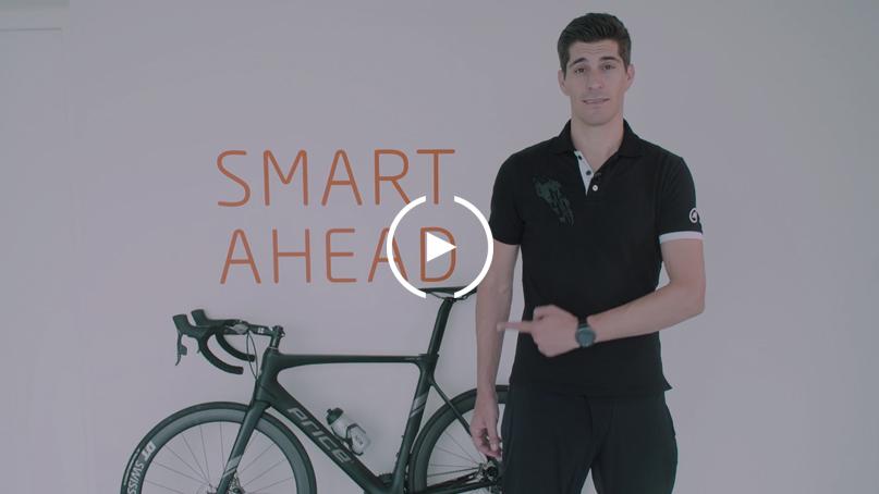 Mann mit Velo für Produktevideo