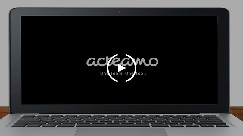 Getting started with Acteamo für Portfolio