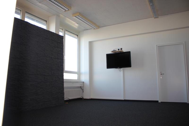Ansicht Studio von Wand aus