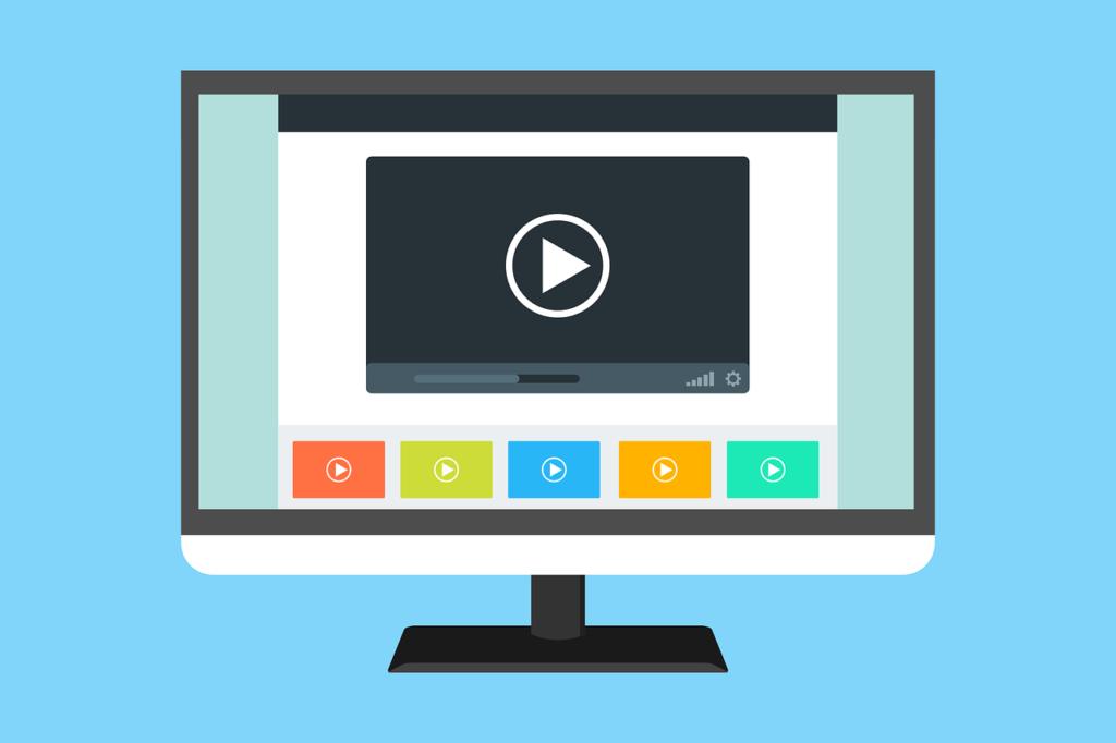 Video auf Webseite für Blog