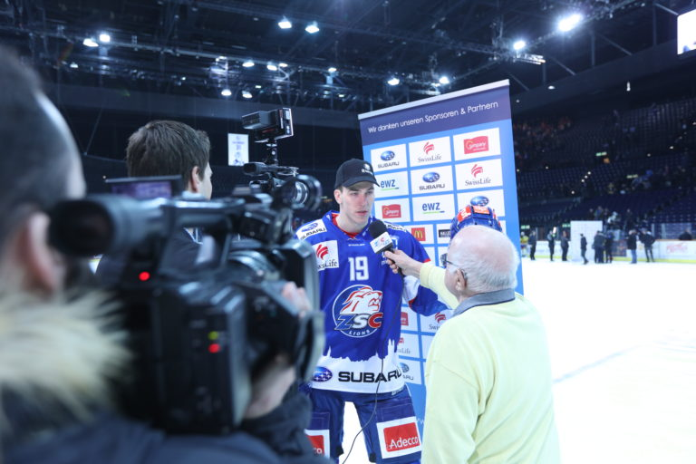 ZSC Lions TV Spielerinterview
